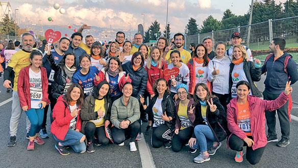 MAPFRE, İstanbul Maratonu'nda 70 bin lira bağış topladı