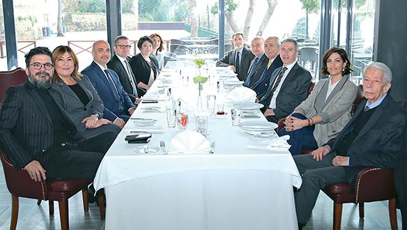 Türk Nippon Sigorta ekibiyle Kandilli Borsa Restaurant'ta buluştuk