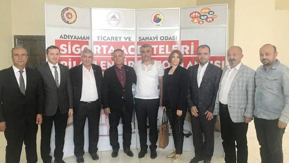 SAİK Yönetimi Adıyaman'daki bölgesel acenteler toplantısına katıldı
