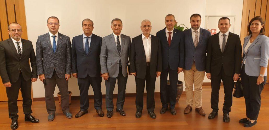 TOBB SAİK'ten İstanbul'a taşınan Hazine Birimleri Yöneticilerine ziyaret