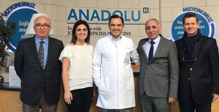 SAB'dan Anadolu Sağlık Merkezi Hastanesi'ne ziyaret