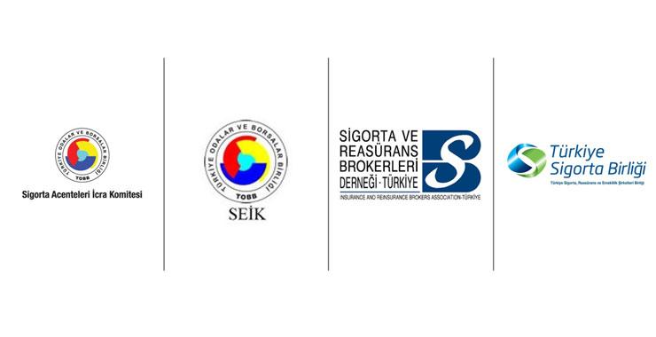 SAİK Başkanı Levent Korkut, TSB, Brokerler Derneği ve SEİK başkanları ile toplantı düzenledi