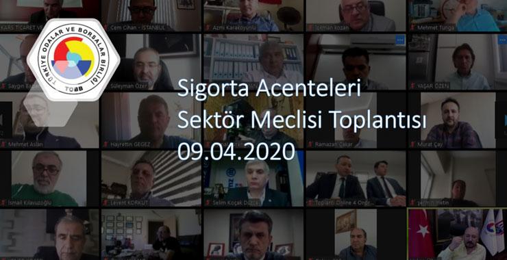 TOBB SAİK Sektör Meclisi Toplantısı video konferans ortamında gerçekleştirildi