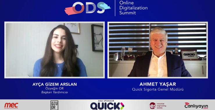 Quick Sigorta'nın sponsor olduğu Online Digitalization Summit tamamlandı