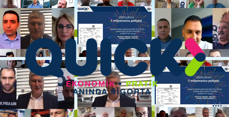 Quick Sigorta Bölge Toplantıları acentelerin yoğun katılımıyla gerçekleşiyor
