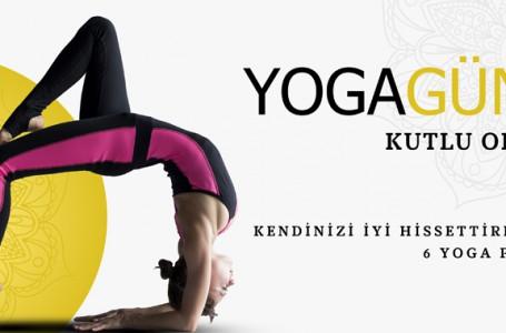Kendinizi iyi hissettirecek 6 yoga pozu