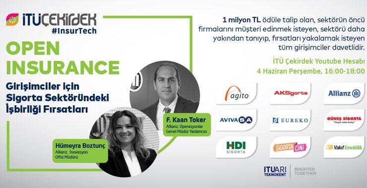 Girişimciler 'Open Insurance: Girişimciler için Sigorta Sektöründeki İş birliği Fırsatları' etkinliğinde buluşuyor