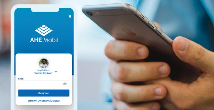 Anadolu Hayat Emeklilik'in mobil uygulaması AHE Mobil yenilendi