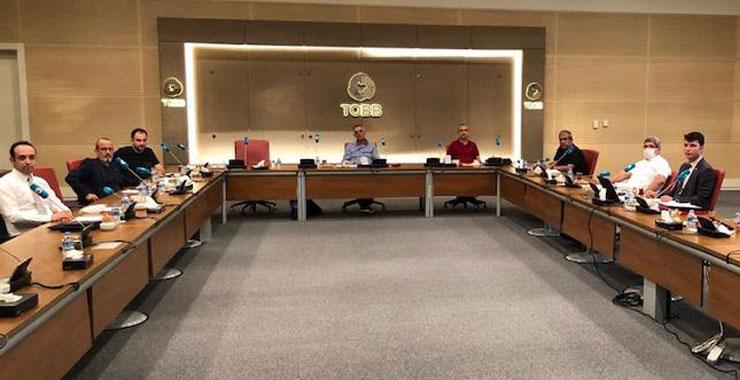 TOBB SAİK yönetimi 23. aylık olağan toplantısını Ankara'da gerçekleştirdi