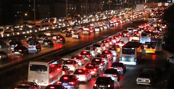 Trafikteki toplam taşıt sayısı 23 milyonu aştı